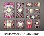big templates set. business...   Shutterstock .eps vector #403686004