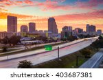 Orlando  Florida  Usa Skyline...