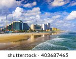 Daytona Beach  Florida  Usa...