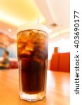 cola on ice | Shutterstock . vector #403690177