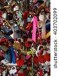 love padlocks colorful   Shutterstock . vector #403702099