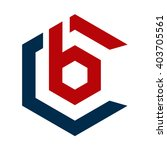 bc logo initial and hexagon | Shutterstock .eps vector #403705561