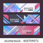a set of modern vector banners... | Shutterstock .eps vector #403709071