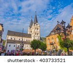 boppard  germany   oct 4 ... | Shutterstock . vector #403733521