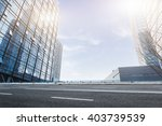modern office buildings under... | Shutterstock . vector #403739539