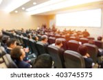blur of business conference and ... | Shutterstock . vector #403745575