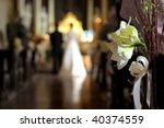 flowers with a wedding ceremony ... | Shutterstock . vector #40374559