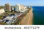 Aerial View Of Fort Lauderdale...
