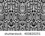 snake python skin texture.... | Shutterstock .eps vector #403820251