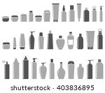 blank cosmetic bottle icon set... | Shutterstock . vector #403836895