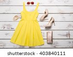 summer women's clothes for a... | Shutterstock . vector #403840111