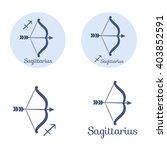sagittarius cartoon character...   Shutterstock .eps vector #403852591