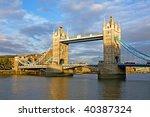 famous tower bridge | Shutterstock . vector #40387324