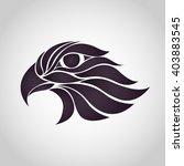 hawk logo vector | Shutterstock .eps vector #403883545