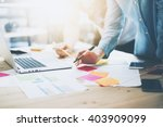photo coworking team meeting.... | Shutterstock . vector #403909099