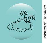 sweet candy design  | Shutterstock .eps vector #403909495