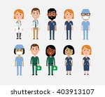 illustration of characters... | Shutterstock .eps vector #403913107