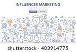 doodle vector illustration of... | Shutterstock .eps vector #403914775