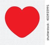 heart icon illustration design | Shutterstock .eps vector #403935991