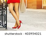 women's fashion. city life.... | Shutterstock . vector #403954021