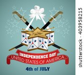 4 july independence day festive ... | Shutterstock .eps vector #403958215