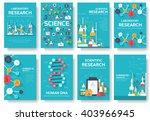 science information cards set.... | Shutterstock .eps vector #403966945