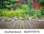 Old Hardwood Decking Or...