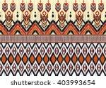 geometric ethnic oriental ikat... | Shutterstock .eps vector #403993654