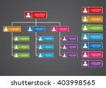 colorful rectangle organization ... | Shutterstock .eps vector #403998565