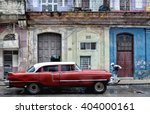 havana  cuba   january 14  2016 ... | Shutterstock . vector #404000161