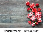 valentines day vintage... | Shutterstock . vector #404000389
