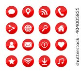 set of universal web icons for... | Shutterstock .eps vector #404005825