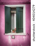 Picturesque Old Window With...