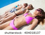 young fun people are having... | Shutterstock . vector #404018137