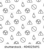 danger and alarm seamless... | Shutterstock .eps vector #404025691