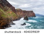 inaccessible shores of the... | Shutterstock . vector #404039839