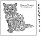 Decorative British Shorthair...