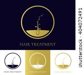 hair treatment and transplant... | Shutterstock .eps vector #404072491