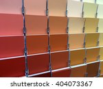 color swatches and painting... | Shutterstock . vector #404073367