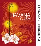 havana cuba background | Shutterstock .eps vector #404095765