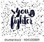 beautiful confetti poster with... | Shutterstock . vector #404100889
