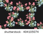floral iris bell  background... | Shutterstock .eps vector #404105074