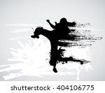 martial art    Shutterstock . vector #404106775