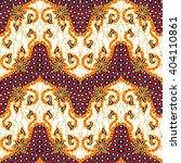 seamless floral beautiful batik ... | Shutterstock . vector #404110861