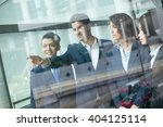 group diversity business people ... | Shutterstock . vector #404125114