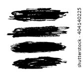 set of grunge brush strokes of... | Shutterstock .eps vector #404140225