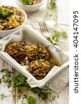 Baked Stuffed Mushrooms In The...