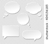 Speech Bubble Big Set  Isolate...