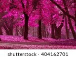 detail from the park in various ... | Shutterstock . vector #404162701