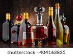 Composition With Bottles Of...